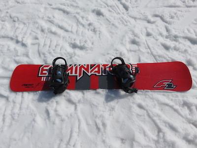 1スノーボードF2 ELIMINATOR PROTO 163