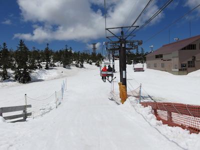 35横手山渋峠スキー場