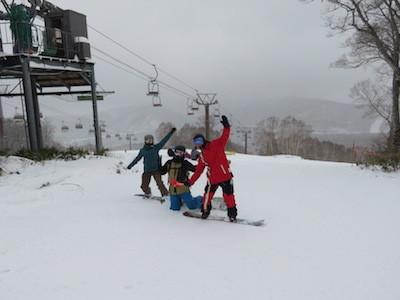 スノーボードひゃくりん