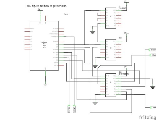 small resolution of schematic for 640x480 arduino video