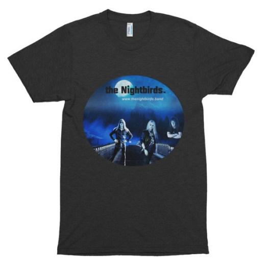 The Nightbirds I Don't Like It themed T-Shirt American Apparel TR401 Unisex Tri-Blend Short Sleeve Track Shirt