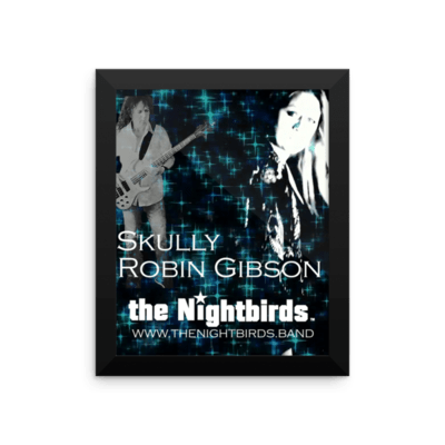 Skully & Robin from the Nightbirds Framed Luster Photo Paper Poster