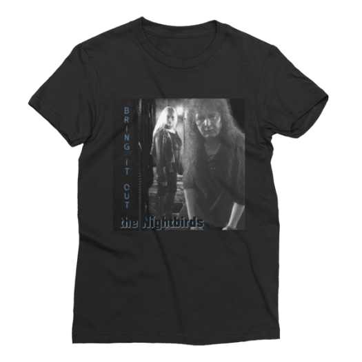 """the Nightbirds """"Bring It Out"""" Women's Short Sleeve T-Shirt"""