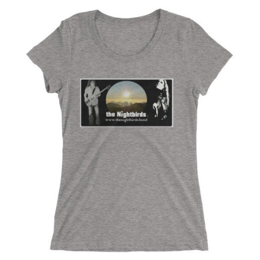 the Nightbirds PIECES (Cover Art Inspired) Ladies' short sleeve t-shirt