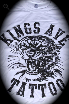 KA Tiger T-Shirt: White 00009