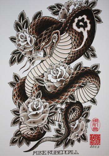 Mike Rubendall: Cobra and Roses 00025