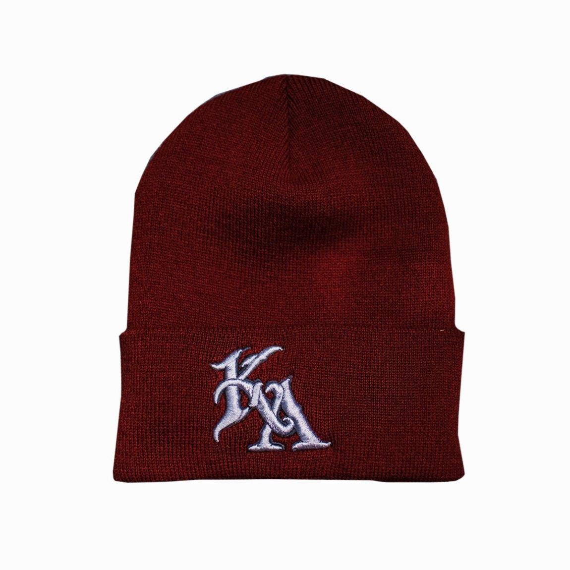Maroon Knit 00155