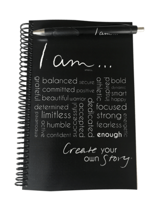 I am Athletics Workout Journal & Pen Set