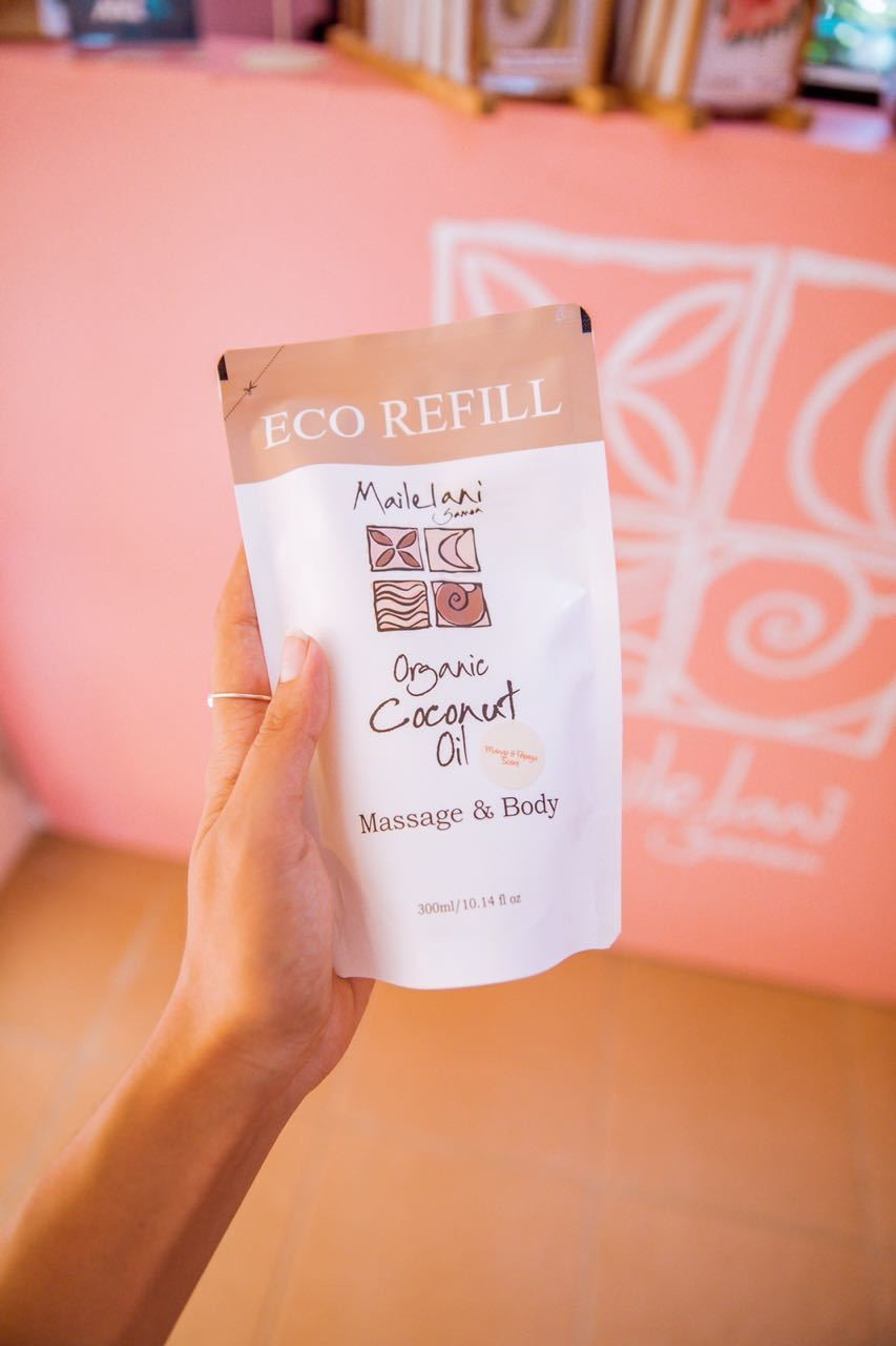 Pure and Simple- Eco Refill Pouches 300ml Organic Coconut Oil