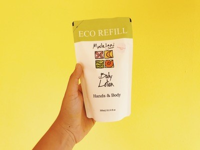 Koko Samoa and Vanilla- Eco Refill Pouch 300ml Lotion