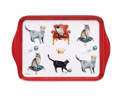 Pampered Cats Scatter Tray by Asdene