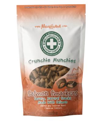 Meowijuana Crunchie Munchie Salmon Cat Treats