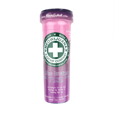 Meowijuana Purple Passion Catnip and Silvervine