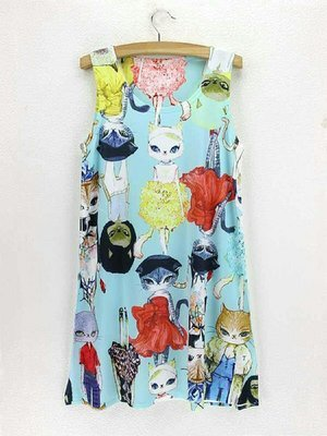 Fashionista Kitties Dress