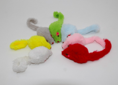 Soft Faux Fur Mice