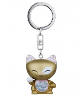 Mani the Lucky Cat Keyring Cat Charm
