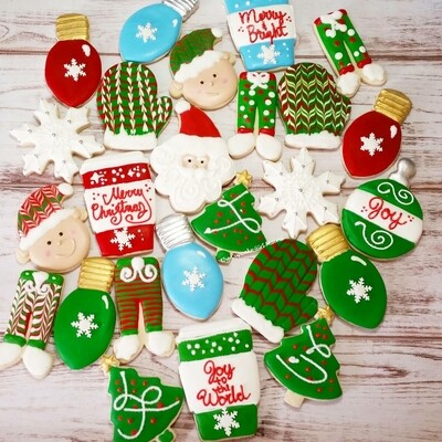 Merry & Bright  Sugar Cookie set