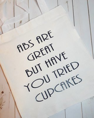 Abs Are Great But Have You Treid Cupcakes - Canvas Tote Bag