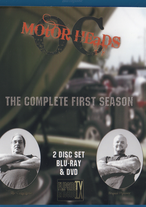 OC Motor Heads: Season 1 |  2-Disc DVD-BluRay Combo 13010