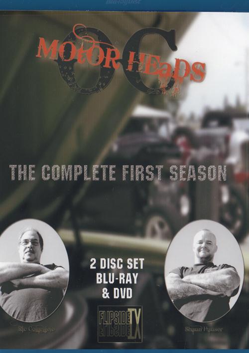 OC Motor Heads: Season 1 |  2-Disc DVD-BluRay Combo 13010