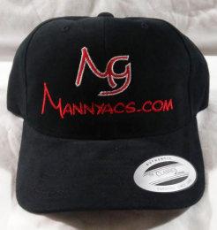 Mannyacs Ballcap, Black