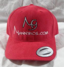Mannyacs Ballcap, Red