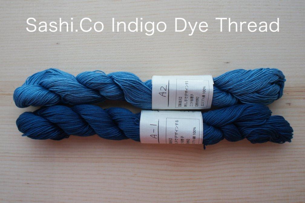 Indigo Dye Sashiko Thread | 145 meter skein