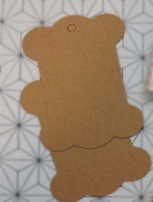 2 pcs of Paper Bobbins for Sashiko Thread Itomaki
