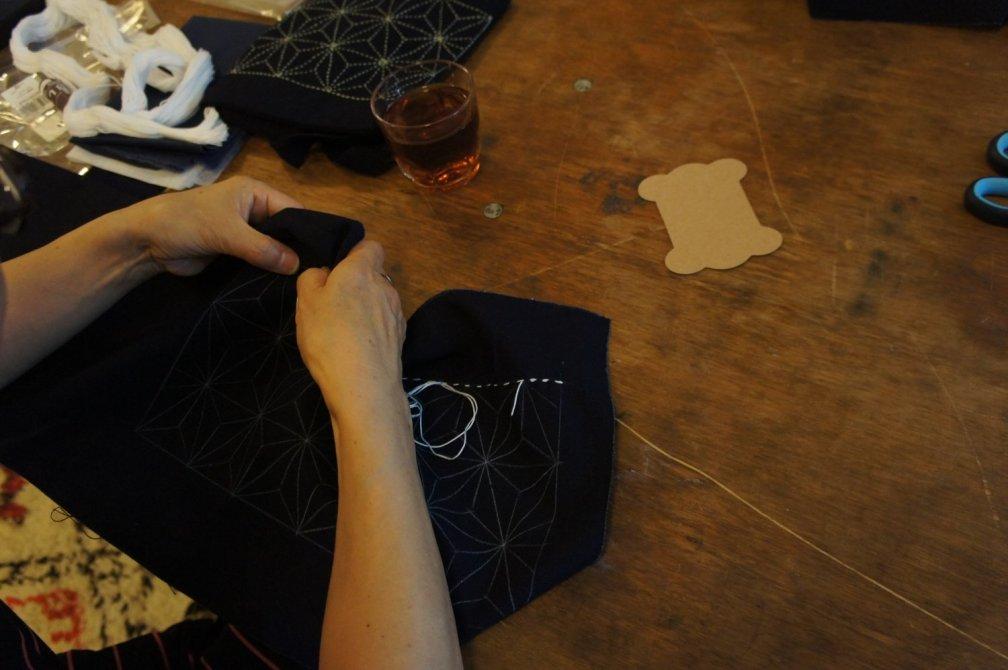 Live-Style Online Sashiko Workshop | Core & Basic