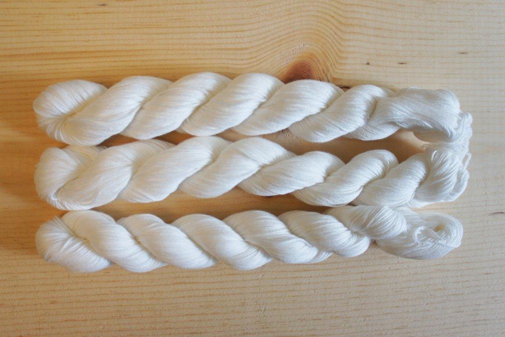 Sashiko Thread | Prepared to be Dyed SKU FD_145Thread_Blank