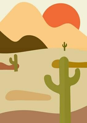 Samaritans Purse | Sunset Cactus