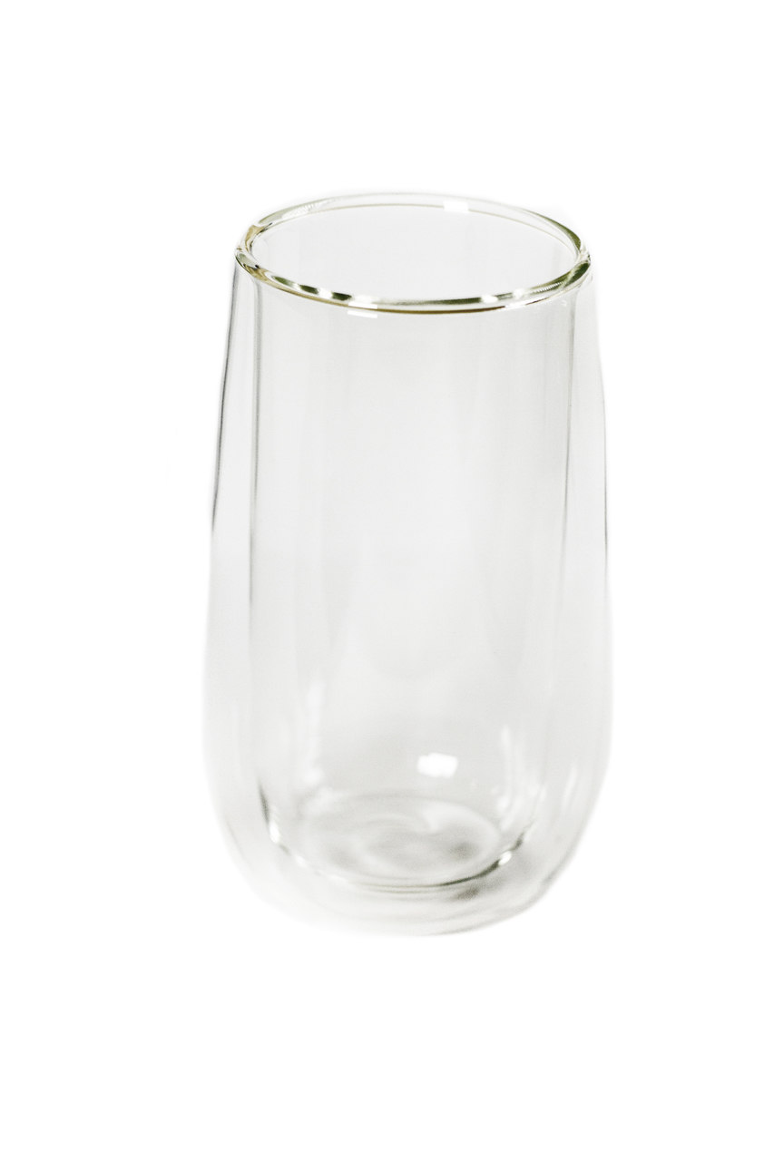 Tall Double Walled Glass 00040