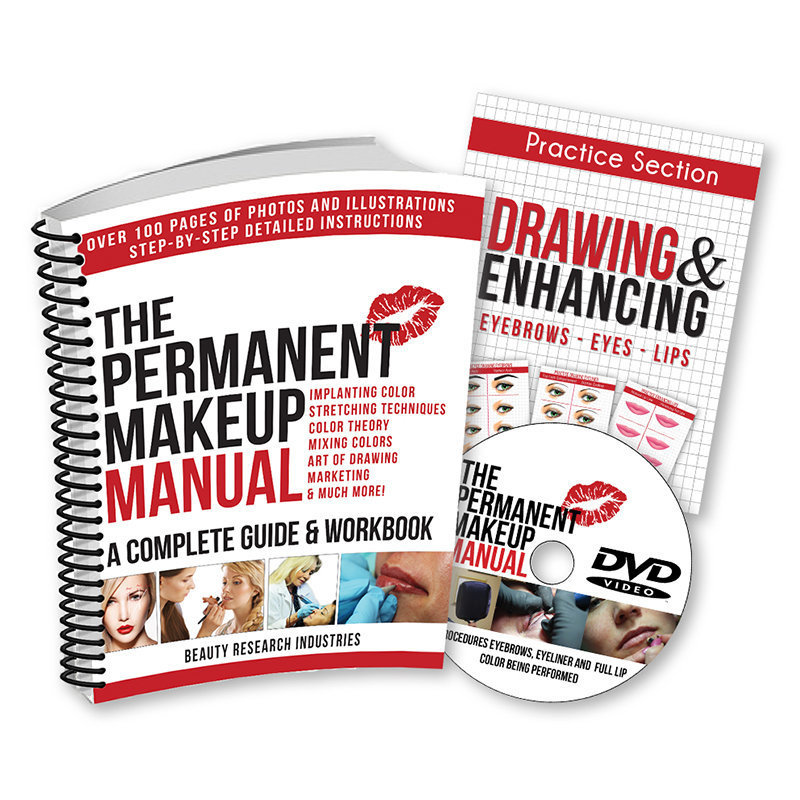 The Permanent Makeup Manual with DVD MBCPMTM02