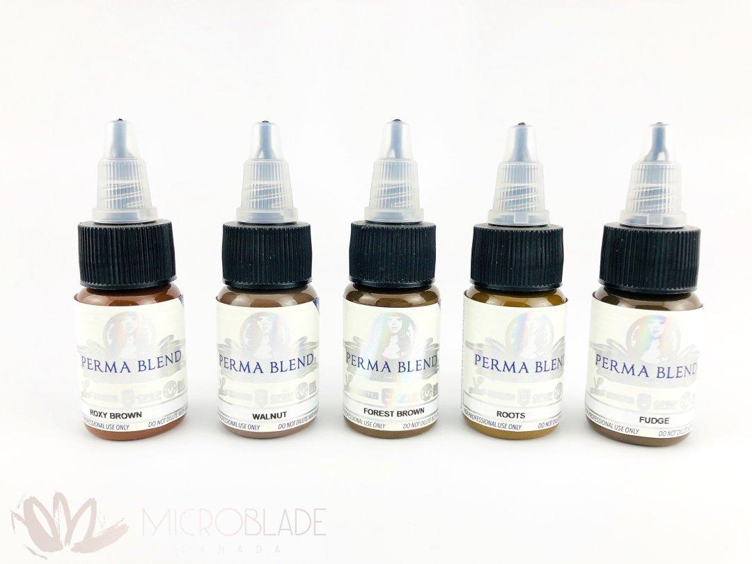 Perma Blend Pigments - Spectrum Medium (Browns) MBCPBSM3