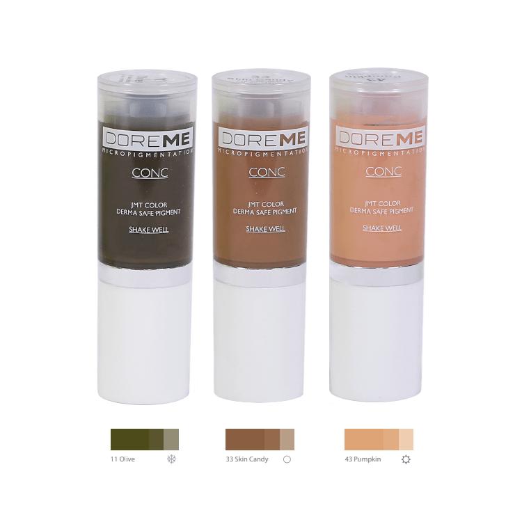 Doreme Pigments - Corrector Set MBCDPCORRSET-1
