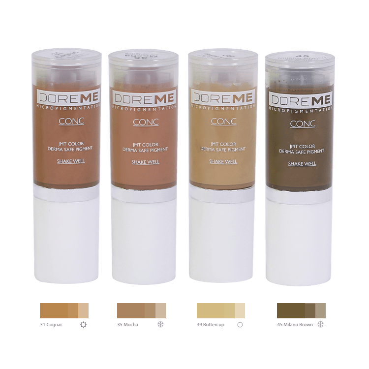 Doreme Pigments - Blonde Set MBCDPBLONDE-1