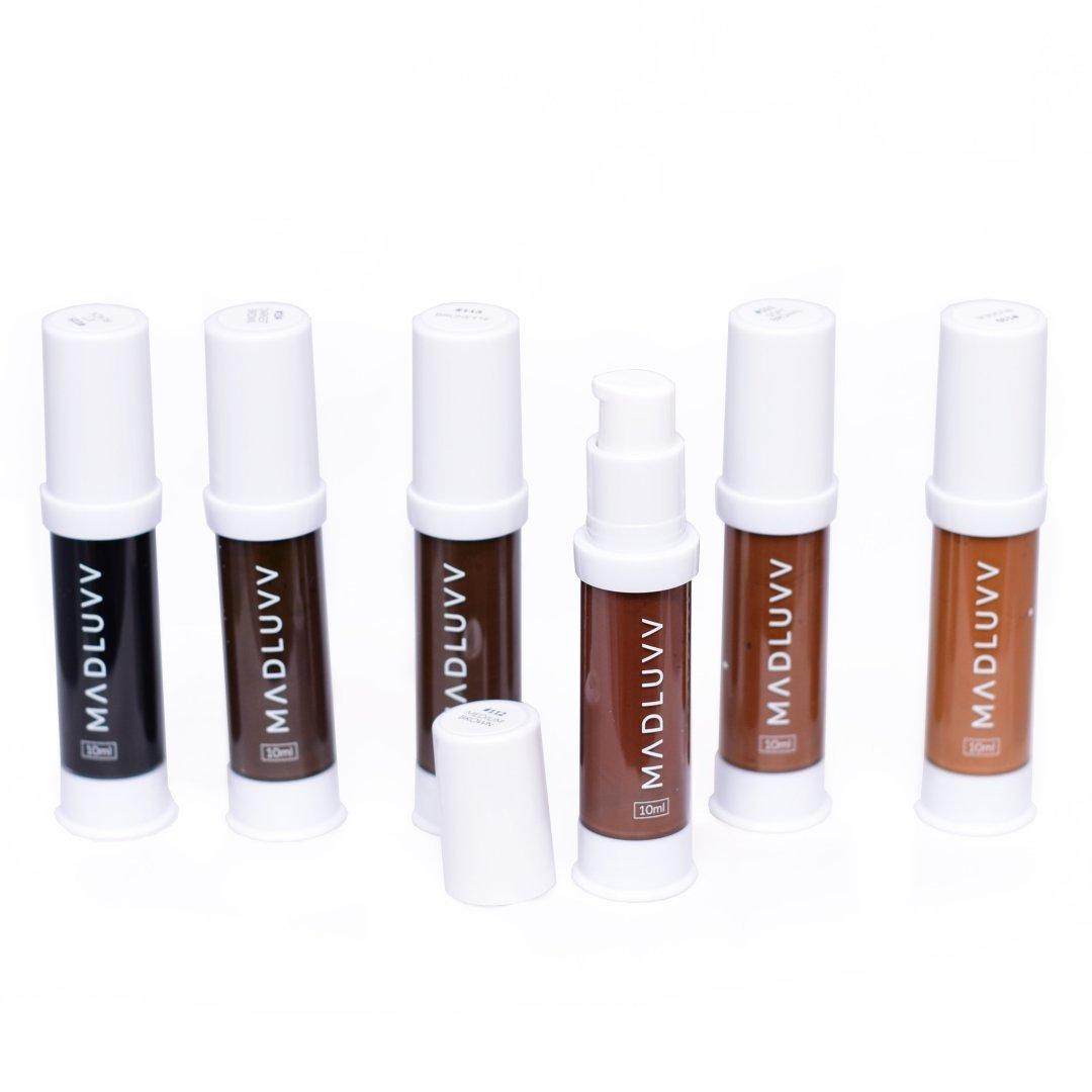 MADLUVV Pigments - 6 Pigment Set MBCMPS6