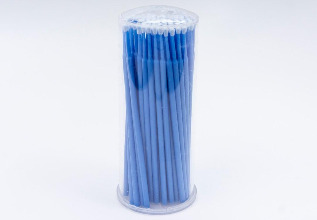 Large – Blue Microbrushes 100pcs MBCLBMB05002