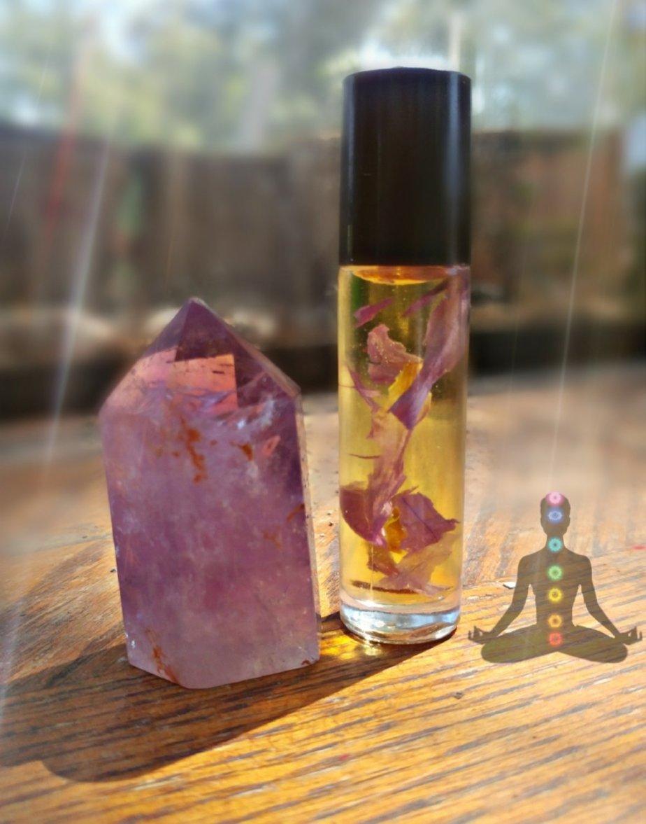 Chakra 7 Aromatherapy Oil