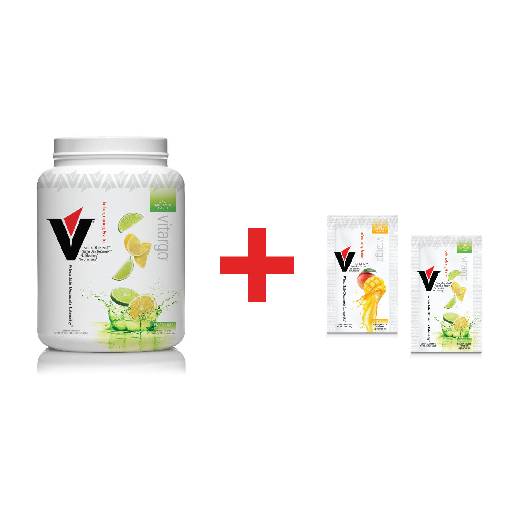 Vitargo Lemon Lime Plus 2 Single-Scoop Packets ($6.00 Value) 00021