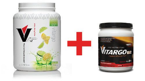 Vitargo Lemon Lime 50 Scoop Plus VitargoS2 Tropical Fruit 00095