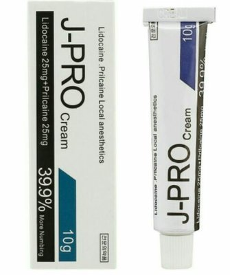 J-pro numb in cream