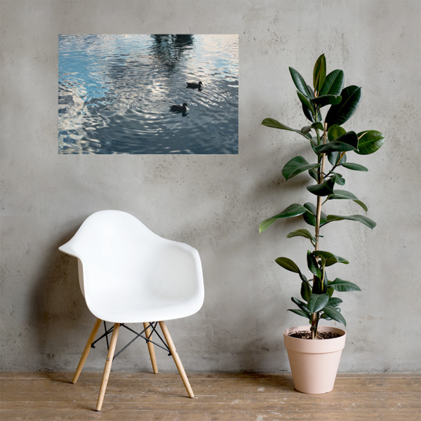 Lake Side Photo paper poster 00009