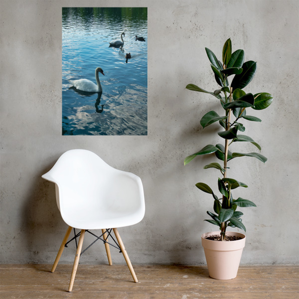 Lake Side Photo paper poster 00011