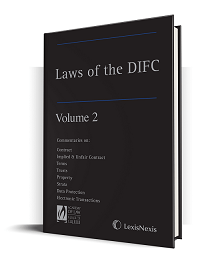 Laws of the DIFC - Volume 2 (ISBN9781474307222)