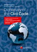 Dictionary of the Civil Code (EAN9782711021246)