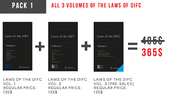 PACK 1: ALL 3 VOLUMES OF THE LAWS OF DIFC