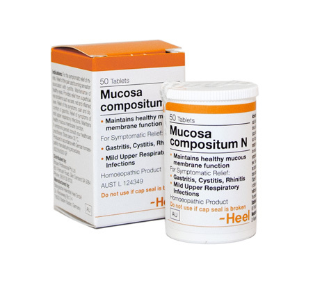 Mucosa comp N (Heel) - Practitioner Only 00086