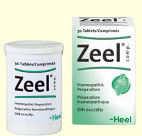 Zeel Homeopathic 50 tablets by Heel - Practitioner Only 00143