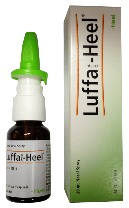 Luffa - (Natural hayfever spray) - Practitioner only 00121